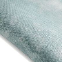 Lagoon Hand-Dyed Effect 40ct Linen 17x19 cross stitch fabric Fabric Flair - $20.40