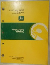 John Deere 9400T, 9300T Tractors Operator's Manual s/n 901001 and up - $28.00