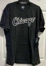 Chicago White Sox MLB Jet Black Wordmark Men's Club Tee *NEW* - $25.00
