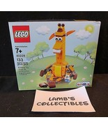 Geoffrey the giraffe Lego 40228 133 pieces Toys R US exclusive set build... - $60.09