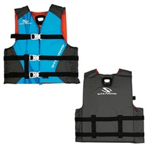 Stearns Youth Antimicrobial Nylon Vest Life Jacket - 50-90lbs - Abstract... - $38.30