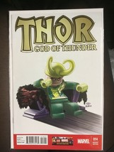 Thor God of Thunder #14 Marvel  2013 Castellani 1:25 Lego Variant - $19.59