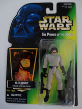 1996 Star Wars POTF AT-ST Driver With Blaster Rifle And Pistol Action Fi... - $15.00