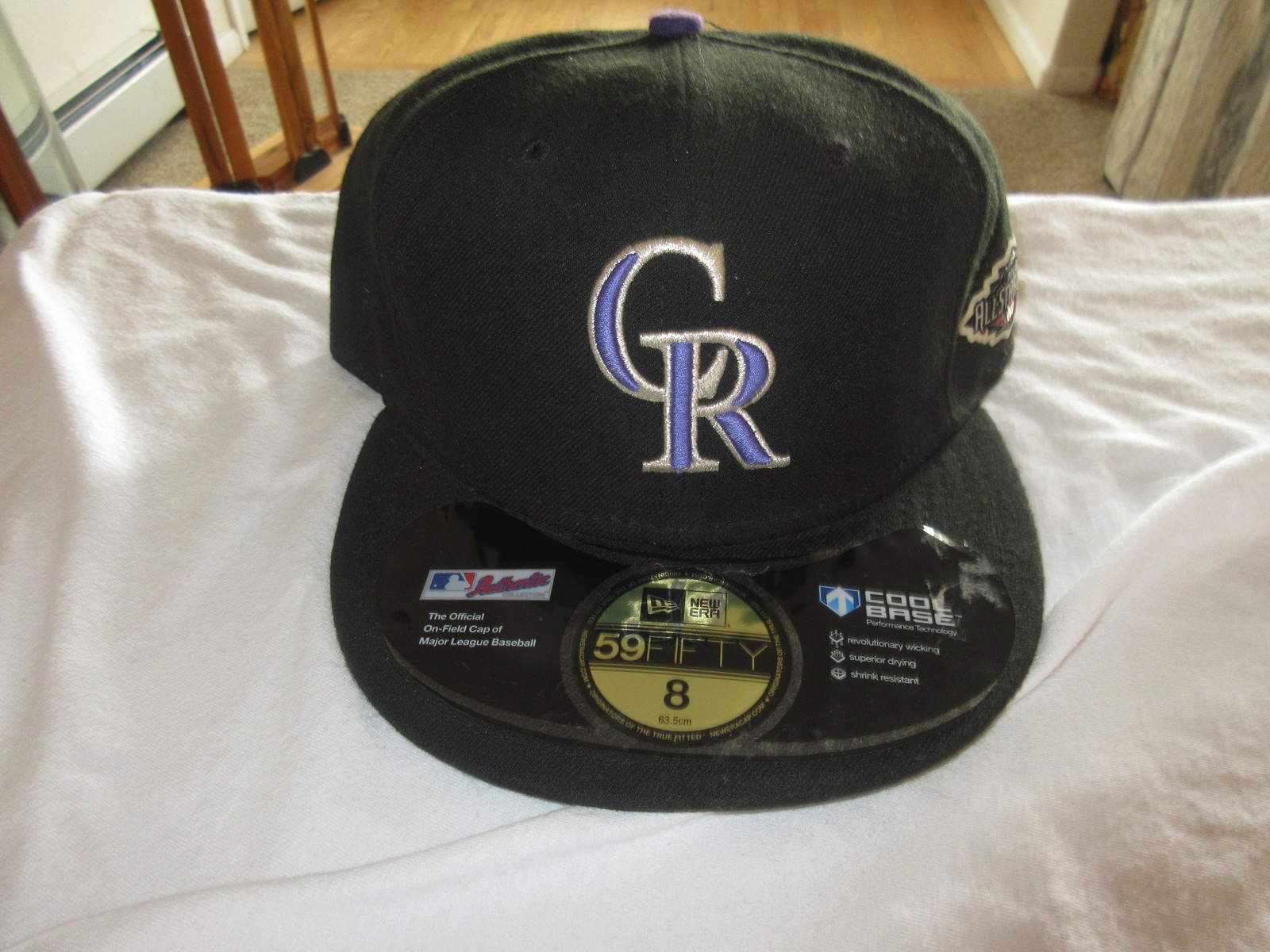 Colorado Rockies 2011 MLB All Star Game New Era 59 Fifty Fitted Team Logo Hat