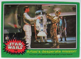 1977 Star Wars Series Four (Green Border) Trading Card #240 - $2.96