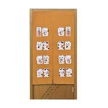Polyester Curtain Doorway Curtain Japanese Style Curtain For Kitchen Door