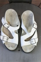 Memphisto Elka sandals 36 6 leather white  - $35.00