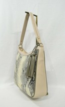 NWT Brahmin Noelle Leather Hobo/Shoulder Bag  in Sand Beck - $249.00