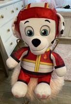 "Large Plush Marshall Paw Patrol 21"" Stuffed Animal 2018 Spin Master Toy - $4.90"
