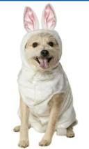 Big White Bunny Dog Costume - XL - Hood Ears - Halloween - Easter - Rubi... - £15.39 GBP