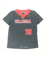 Nike Oklahoma Digital Vapor Select Softball Jersey #19 Women's M Grey AV... - $21.77