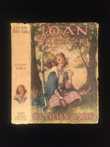 "1924 ""Joan: Just Girl"" by Lilian Garis frame-ready dust jacket (no book)"