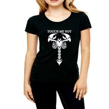 Scorpion   high quality cheapest price black t shirt  women - $19.99+