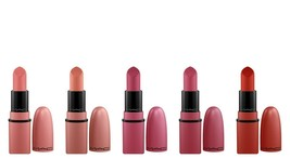 NIB!MAC Haute Gossip Mini Lipstick Kit 5 Pc Set - $44.99