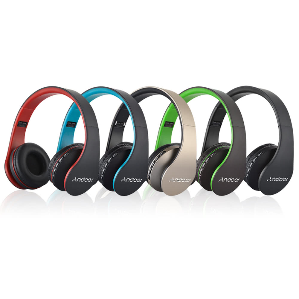 Multi-colors Professional Portable Music Wireless Stereo Bluetooth 4.1 Headphone
