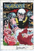 Warlord #126-2/1988-DC-Jerry Serpe-color guide-printers codes-signed-unique-VG - $321.31