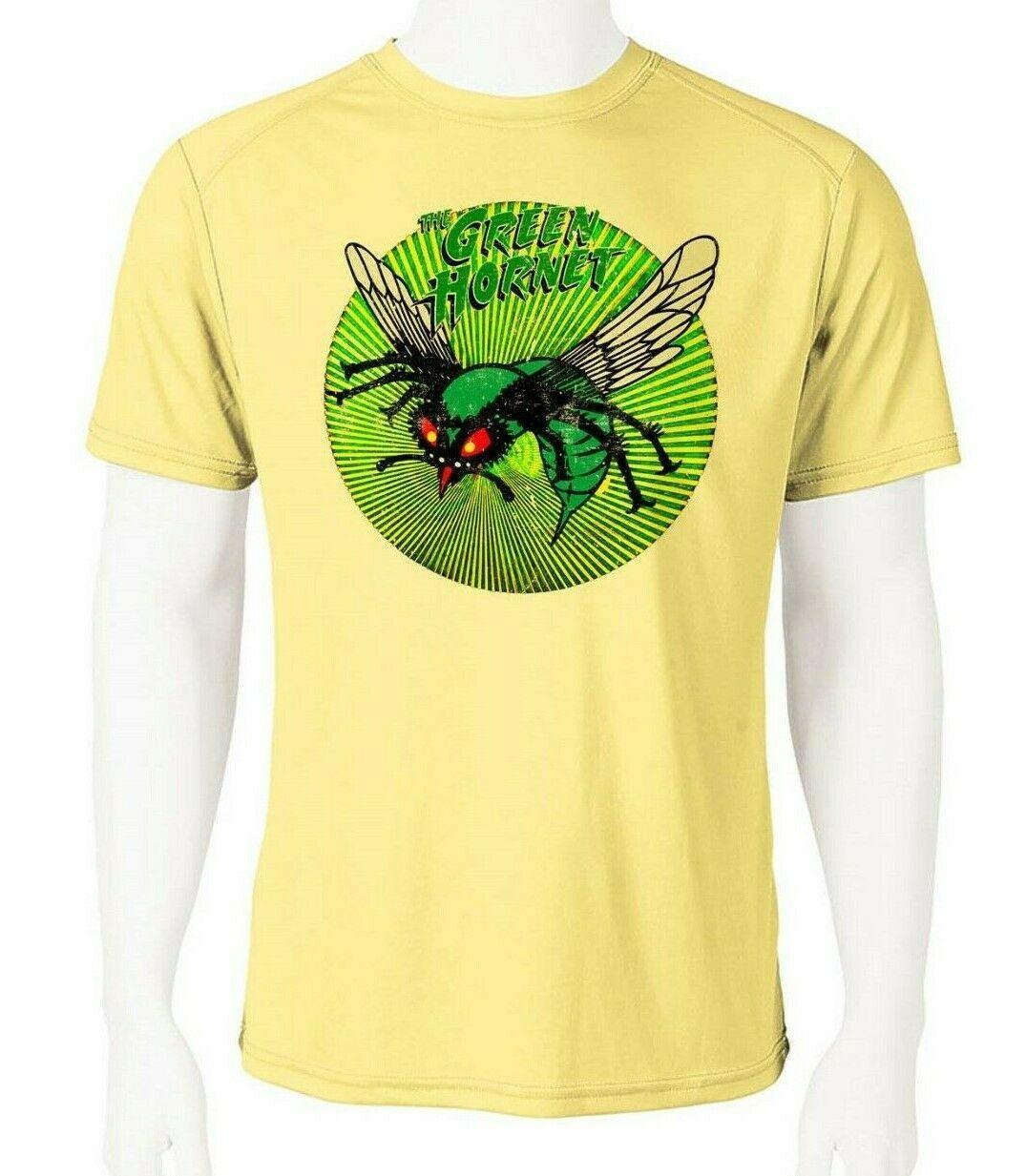 Green hornet dri fit graphic tshirt moisture wicking superhero comic spf tee 2