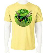 Green Hornet Dri Fit graphic Tshirt moisture wicking superhero comic SPF tee image 1