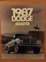 1987 Dodge Dakota Truck 16-page Sales Brochure Catalog - PIckup Prospector 4x4 - $12.86