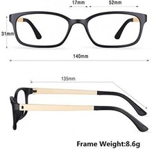 Blue Light Blocking Glasses,Cut UV400 Transparent Lens,Computer Reading - $42.83