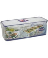 Lock & Lock HPL849T Classic Bread Box Rectangular Food Container w/Sandw... - $41.00