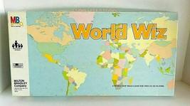 World Wiz Map Game Skills Milton Bradley 1979 Complete - $25.49