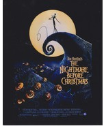 """Tim Burton Signed Autographed """"The Nightmare Before Christmas"""" Glossy 8x... - $59.99"""
