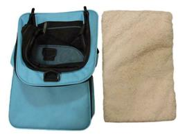 Pet Carrier, Sky Blue, 18 inches x 11 inches x 11 inches image 5
