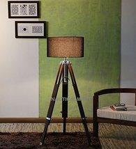 Nauticalmart Decorative Tripod Floor Lamp Sheesham Wood - $104.94