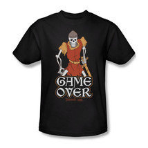 Dragons Lair Game Over t-shirt retro 80's classic arcade game graphic tee DRL100 image 1