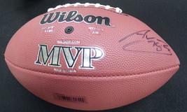 Alejandro Villanueva Signed Full Size Football Steelers - $215.04