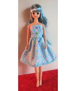 Pullip Jenny Momoko size Handmade Dotted Hearts Doll Dress - $17.97
