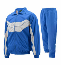 Men's Work Out Jogging Gym Fitness Straight Leg Tracksuit Set w/ Defects 3XL