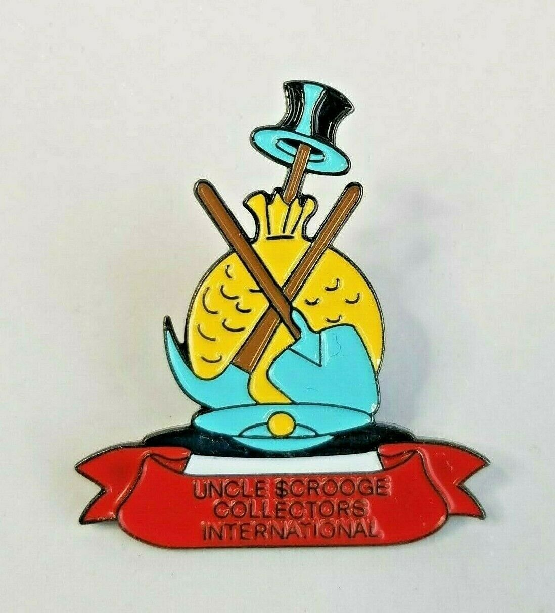 Primary image for Disney Uncle Scrooge McDuck Collectors International Carl Barks Club Pin