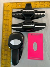 """3 Stampin Up Paper Punches Oval 1 3/4"""" x 7/8"""" Whale Style & Sides 2"""" - $29.69"""