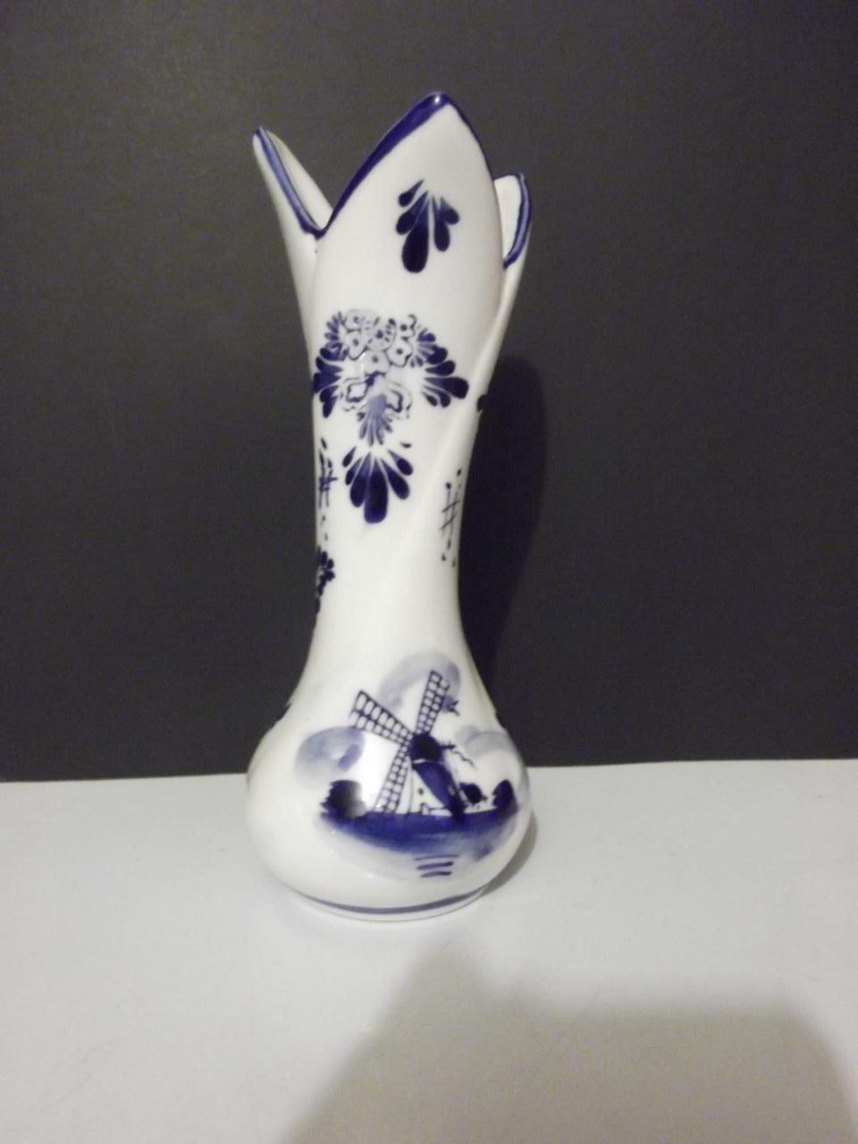 Eh hand painted delft blue bud vase 6 and 50 similar items reviewsmspy