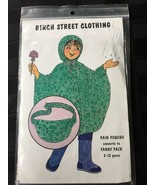 Birch Street Sewing Pattern Child's Rain Poncho Converts to Fanny Pack - $14.99