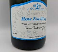 Personalised Champagne - promotion, promoted at work, new job, unique gi... - $44.11