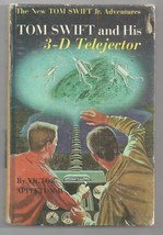 TOM SWIFT Jr And HIS 3-D TELEJECTOR   picture cover Ex+  1964  1ST EDITI... - $13.80