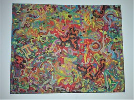 Original Painting - Abstract - Shattered - Acrylic on Canvas - $85.00