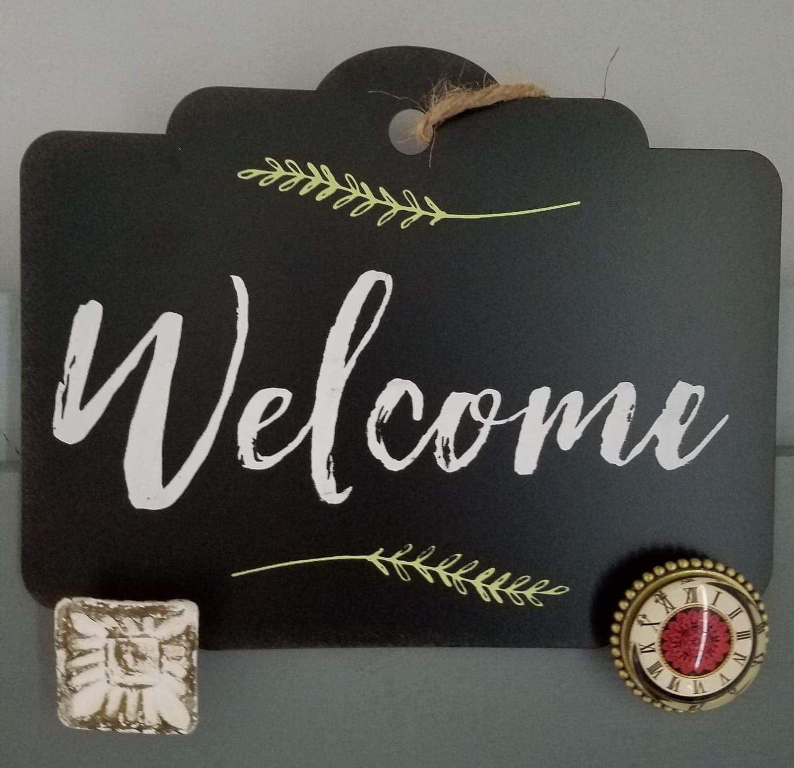 Welcome Sign (Chalk Couture)