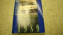 1989 GM Oldsmobile Cutlass Supreme Service Shop Reparatur Werkstatt Manu... - $49.49