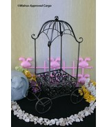GAZEBO CART HOME DÉCOR –DISPLAY MODEL— IDEAL FOR FLOWERS, FRUITS, EASTER... - $49.95