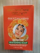 GLUTATHIONE INJECTION GLUTA A-C ZERO PROBLEM EXTREME STRONG WHITENING SOAP - $27.72