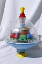 Vintage Toy Spinning Top Train Station - $39.55