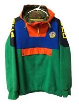 Polo Ralph Lauren P93 Fleece Pullover Jacket Colorblock Mens Size XL Fast Ship - $175.42