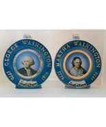 Jim Beam George & Martha Washington Bicentennial Decanters - $30.00