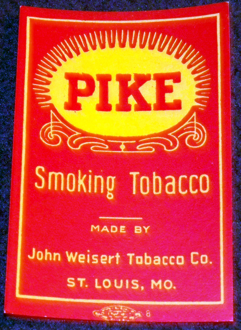 Pike tobacoo label 001