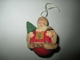 """1996 Hallmark Cards 3 3/4"""" Tall Santa Claus Ornament Tree Decor Christmas - $4.99"""