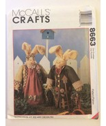 McCall's Patterns 8663 & 774 Sweet Spring Thyme + Basil & Herb Bunnies U... - $12.00